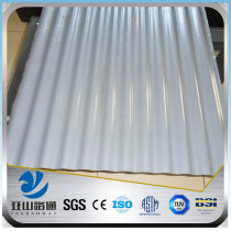 YSW thin color corrugated galvanized steel sheet with price