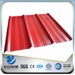 YSW 20 gauge gi corrugated steel sheet for roofing price