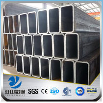 YSW high quality mild rectangular steel pipe