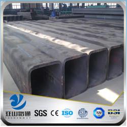 YSW large diameter sizes rectangular pvc tube