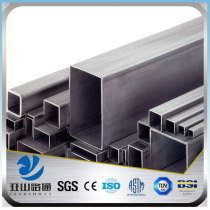 YSW astm a53 schedule 40 rectangular steel tube sizes