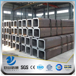 YSW astm a35 10x10 100x100 steel pvc square tube supplier