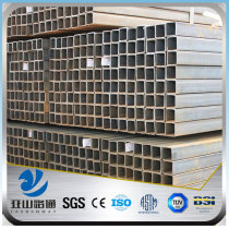 YSW 20x20 mm titanium square hollow steel tube price per ton