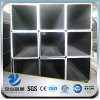 YSW astm a53 black iron square polycarbonate tube price