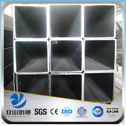 YSW astm a53 black iron square polycarbonate tube price