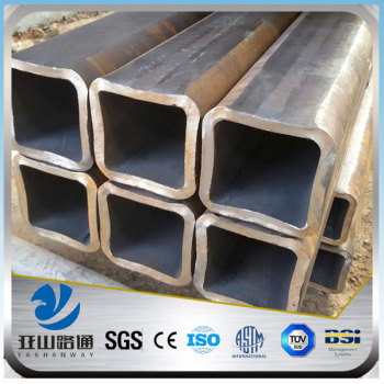 YSW 40x40 galvanized square steel pipe manufactures in china