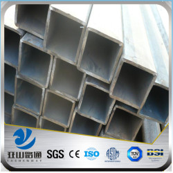YSW aisi304 316 2mm thick stainless steel square pipe
