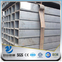YSW astm a139 gr. b 1 inch black square iron pipe