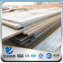 YSW 20mm thick used steel plate for shipbuilding manufacturer