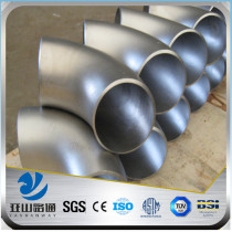 YSW 60 degree schedule 80 ss304 stainless steel pipe fitting elbow