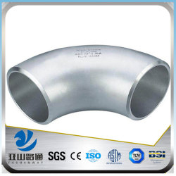 YSW 22.5 degree 90 degree 4 inch stainless steel pipe fitting  elbow