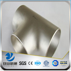 YSW ss304 316 stainless steel fitting reducing tee