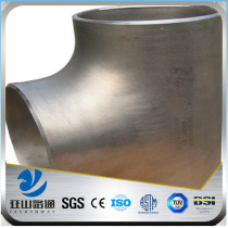 YSW stainless steel split elbow tee reducer pipe fitting