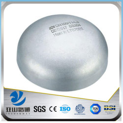 YSW 4 inch sch40 galvanized metal pipe end cap