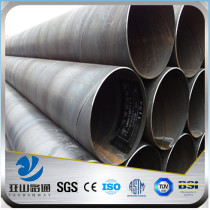 High great quality API 5L spiral welded steel pipe from China