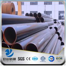 YSW standard corten steel pipe price per ton