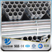 YSW zinc coated galvanized steel pipe bs1387