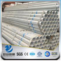 YSW cs galvanized gi steel pipe specifications