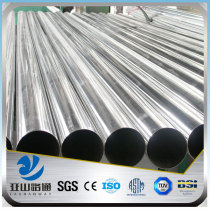 pre galvanized steel pipe weight per meter