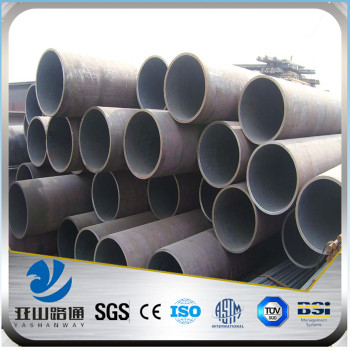 YSW astm a106 grade b sch40 140mm stpg370 seamless steel pipe