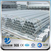 YSW welded thin wall steel gi pipe price