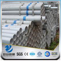 YSW zinc coating 50mm diameter gi pipe price
