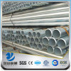 YSW different types galvanzied steel gi pipe price list
