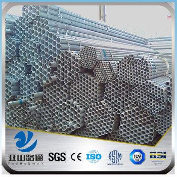 YSW j55 material properties galvanized gi steel pipe 6m length