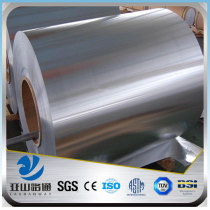 YSW standard hot rolled aisi 306 steel coil strip sizes