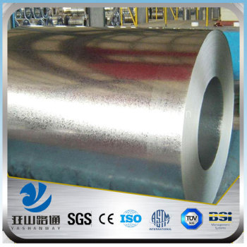 YSW Q235B black painted hot rolled steel strip for welding flange