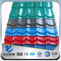 galvanized steel sheet corrugated specification metal standard size