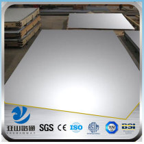 YSW 304 price hs code stainless steel sheet