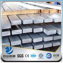 YSW pvc standard ASTM 5160H spring flat bar for stair handrail