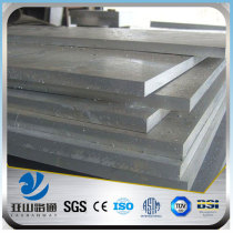 YSW china supplier 6061 t6 5mm 20mm thick aluminium plate price per kg