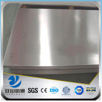 plastic film coated aluminium plain sheet 0.6mm