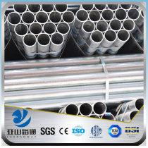 6 inch large round galvanised erw steel tube sizes