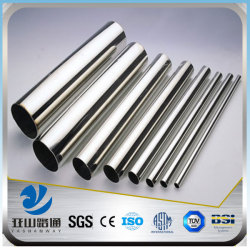 YSW brushed welded cutting thin wall stainless steel tube