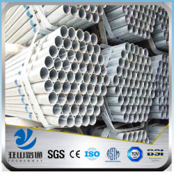 YSW 2 inch galvanized structural steel tubing for sale