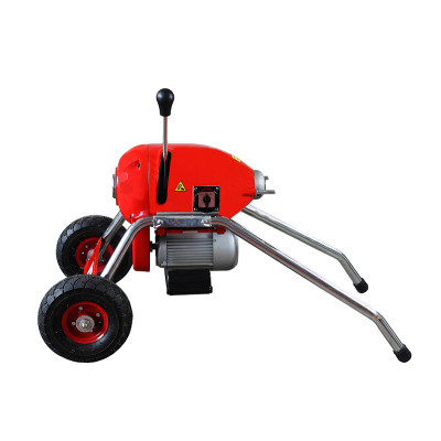 D200 Electric Sectional Drain Cleaning Machine for 2 Inch to 8 Inch Pipelines