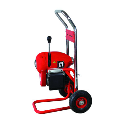 D200A Sectional Drain Cleaning Machine for 2 inch to 8 inch Pipelines