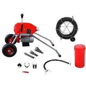 Limpiador de drenaje de alcantarillado d200 eléctrica/máquina de limpieza de drenaje para la venta