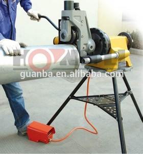 Yg12a ranuradora máquina para tubería de acero inoxidable ranurado