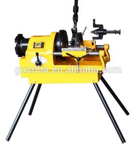 SQ80C máquina enhebrador de tubería de acero, Pipa eléctrica máquina roscadora