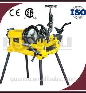Hongli SQ50E nuevo acero rosca de tubo máquina de corte de tubos de acero en eléctrica enhebrador 2