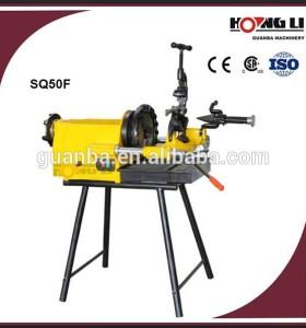 SQ50F enhebrador de tubería de acero de alta eficiencia 1500 w eléctrico fabricante con el ce
