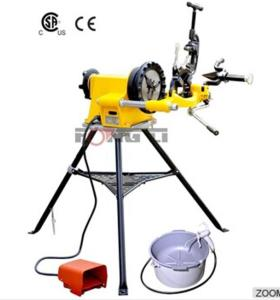 Hongli máquina roscadora sq50d pipe acero eléctrico automático hecho en china