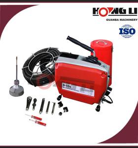 D150 cable tubería industrial máquina de limpieza, fácil de usar, Bajo nivel de ruido