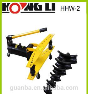 HHW-2 2 pulgadas utiliza hidraulica dobladora de tubos para la venta