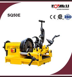 SQ50E maquinaria roscadora de tubos de acero para tubería bspt o npt 2 pulgadas