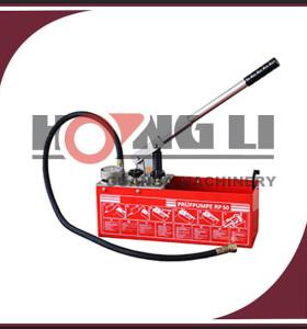 Hongli rp50 rojo portable bomba de prueba manual de la presión con 860psi, 6mpa
